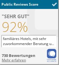 Alle Bewertungen über IHR Hotel Beckmann