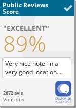 Read all reviews about Hôtel de l'Université